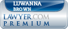 Luwanna Nicole Brown  Lawyer Badge