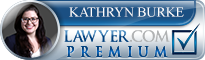 Kathryn Jakuback Burke  Lawyer Badge