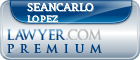 SeanCarlo Lopez  Lawyer Badge
