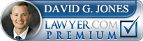 David Glenn Jones  Lawyer Badge
