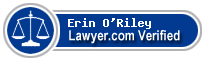 Erin A O'Riley  Lawyer Badge