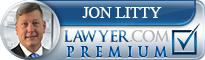 Jon Joseph Litty  Lawyer Badge