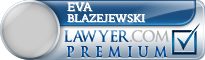 Eva K. Blazejewski  Lawyer Badge