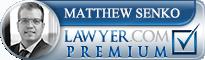 Matthew Alan Senko  Lawyer Badge