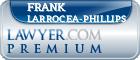 Frank Antonio Larrocea-Phillips  Lawyer Badge