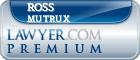 Ross Tyson Mutrux  Lawyer Badge