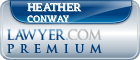 Heather Lange Conway  Lawyer Badge