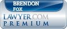 Brendon Joseph Fox  Lawyer Badge