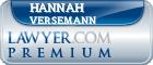 Hannah Elizabeth Versemann  Lawyer Badge