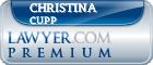 Christina Cupp  Lawyer Badge