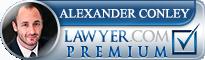 Alexander Charles Conley  Lawyer Badge