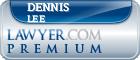 Dennis Howard Lee  Lawyer Badge
