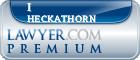 I James Heckathorn  Lawyer Badge