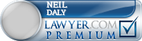 Neil P. Daly  Lawyer Badge