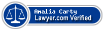 Amalia Mariah Carty  Lawyer Badge