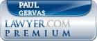 Paul A Gervas  Lawyer Badge