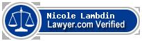 Nicole Catherine Lambdin  Lawyer Badge