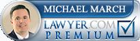 Michael John March  Lawyer Badge