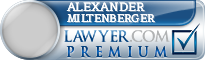Alexander Reid Miltenberger  Lawyer Badge