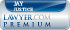 Jay D. Justice  Lawyer Badge