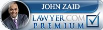John K Zaid  Lawyer Badge