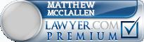 Matthew R. Mcclallen  Lawyer Badge