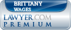 Brittany Michelle Wages  Lawyer Badge