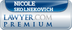 Nicole Skolnekovich  Lawyer Badge