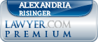 Alexandria M. Risinger  Lawyer Badge