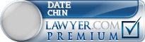 Date Chin  Lawyer Badge