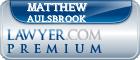 Matthew Edward Aulsbrook  Lawyer Badge