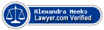 Alexandra Meeks  Lawyer Badge