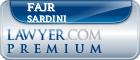 Fajr Sardini  Lawyer Badge