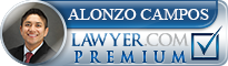 Alonzo Campos  Lawyer Badge