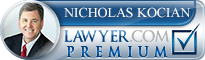 Nicholas Kocian  Lawyer Badge