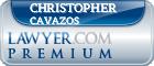 Christopher D. Cavazos  Lawyer Badge