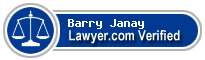 Barry Eran Janay  Lawyer Badge
