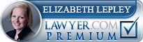 Elizabeth LePley  Lawyer Badge