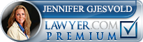 Jennifer Gjesvold  Lawyer Badge