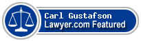 Carl Gustafson  Lawyer Badge