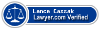 Lance D Cassak  Lawyer Badge