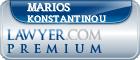 Marios Konstantinou  Lawyer Badge