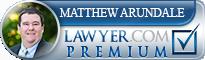 Matthew Arundale  Lawyer Badge