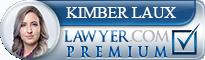 Kimber Laux  Lawyer Badge