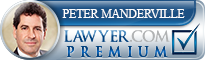 Peter Manderville  Lawyer Badge