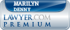 Marilyn M. Denny  Lawyer Badge