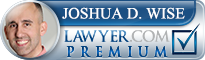 Joshua David Wise  Lawyer Badge