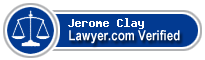 Jerome Anthony Clay  Lawyer Badge