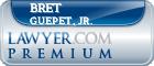 Bret D. Guepet, Jr.  Lawyer Badge