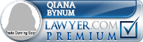 Qiana Wilson Bynum  Lawyer Badge